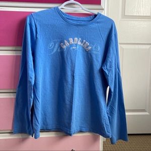 Nike North Carolina Tar Heels light blue shirt